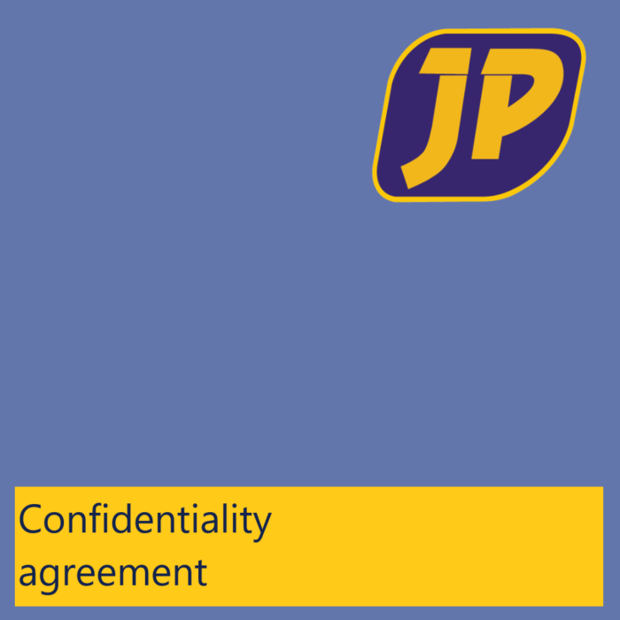 Non disclosure agreement - Jasplastik EN