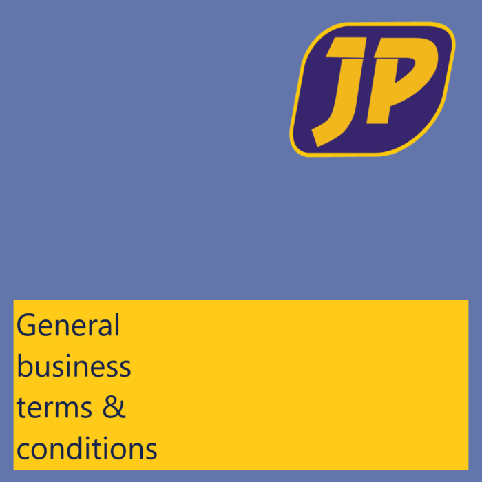 General Business terms - Jasplastik EN